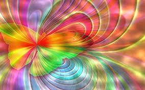 Détachement de Traumatismes® Hypnose PNL Coaching papillon psychédélique coloré